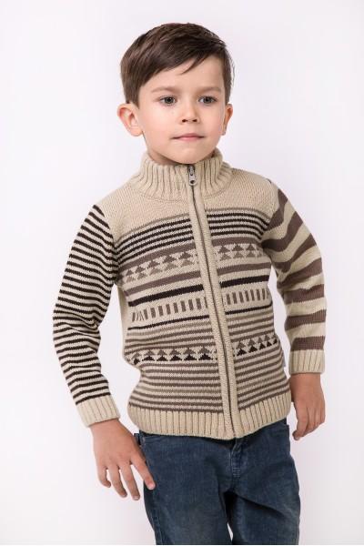 Зимний свитер под горло | Бежевый