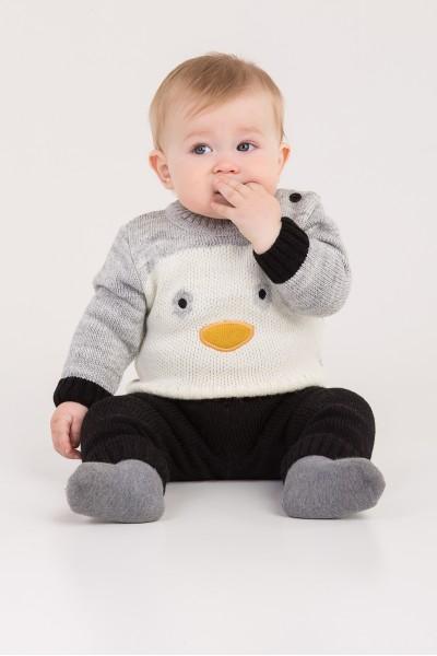 Костюм с боковой застежкой Пингвин