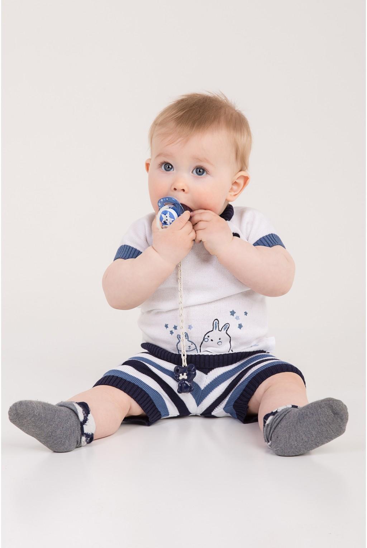 Летний костюм для малышей | Синий